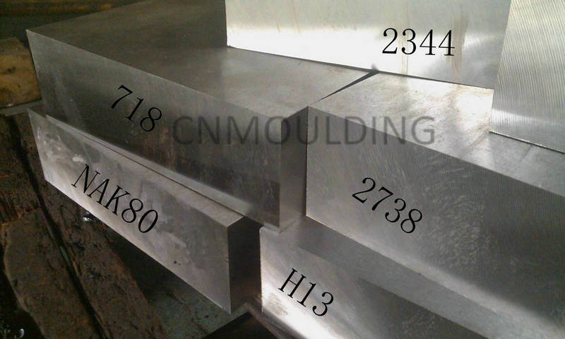Injection mold steel performance